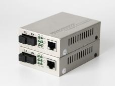 百兆1光1电单模单纤光纤收发器